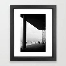 Monochrome Framed Art Print