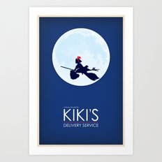 Kiki's Delivery Service … Art Print