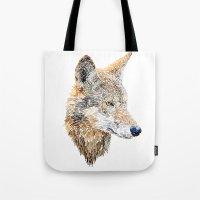 Wolf Head 2 Tote Bag