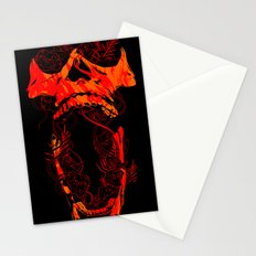 Chaos and Clarity ~ Red Stationery Cards