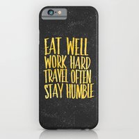 Eat Well. Travel Often. … iPhone 6 Slim Case
