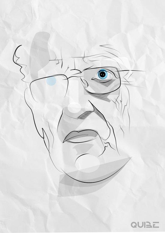 Tribute: Moebius (Jean Giraud) Canvas Print