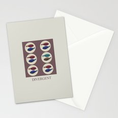 Divergent Stationery Cards