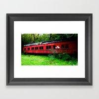 Ohio Train  Framed Art Print