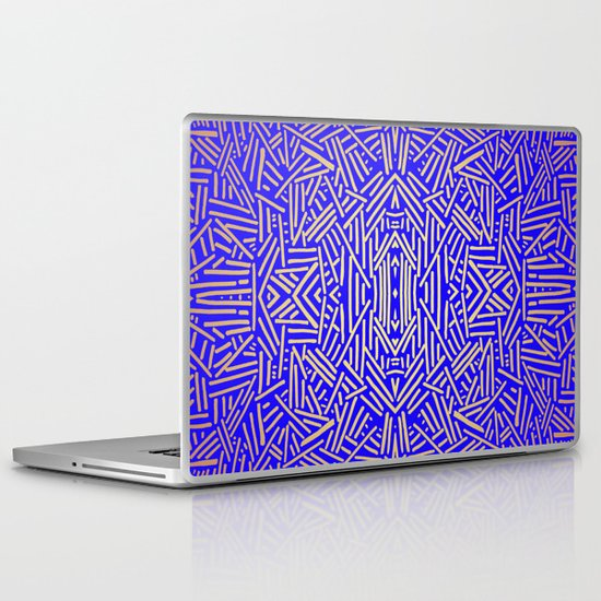 Radiate (Yellow/Ochre Royal) Laptop & iPad Skin