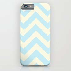 Aqua Chevron iPhone 6s Slim Case