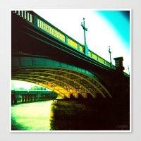 Thames 02 Canvas Print