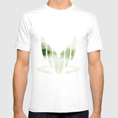 Spectral White Mens Fitted Tee SMALL