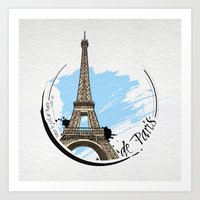 de Paris Art Print