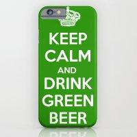 Keep Calm & Drink Green  iPhone 6 Slim Case