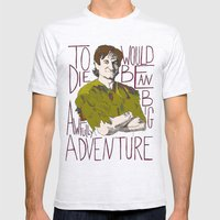 Robin Williams Hook Peter Pan Quote  Mens Fitted Tee Ash Grey SMALL