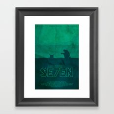 The Box - Se7en Poster Framed Art Print