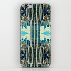 NYC in patterns iPhone & iPod Skin