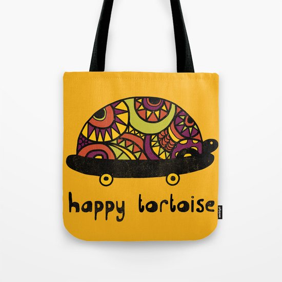Happy Tortoise Tote Bag