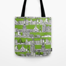 San Francisco green Tote Bag