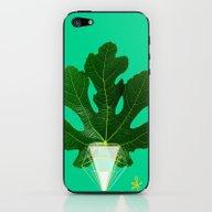 Fig Leaf Diamond Christm… iPhone & iPod Skin