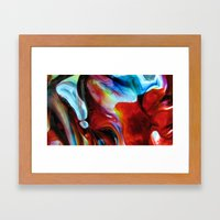 Rainbow Nebula Framed Art Print