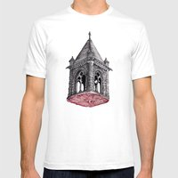 Fleshy Architecture  Mens Fitted Tee White SMALL