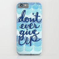 iPhone & iPod Case featuring Fight the Blues by Elizabeth Caldwell