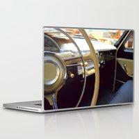 car Laptop & iPad Skins featuring Car  by Kristina Haritonova