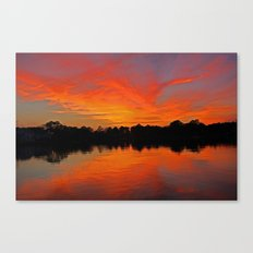 Lafayette River Sunset Canvas Print