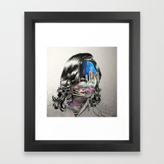 Clouds in the Head Framed Art Print