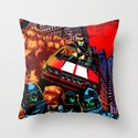 Devil Planet Throw Pillow