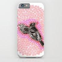 iPhone & iPod Case featuring mother bird by Laurel Howells