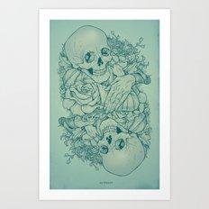 All the Pretty Flowers Art Print
