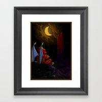 Pixel Art Series 4 : Dem… Framed Art Print