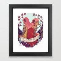 Gemini Framed Art Print