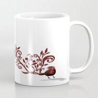 Swirly Bird Mug