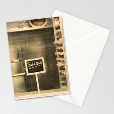 Sold Out Stationery Cards