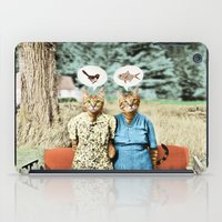Two Cool Kitties: What's for Lunch? iPad Case