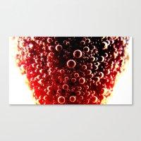 Strawberry Champagne Canvas Print