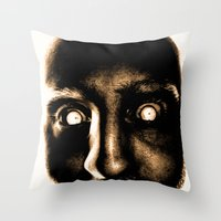 Zombie! Throw Pillow