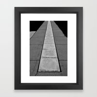 Timeline Framed Art Print