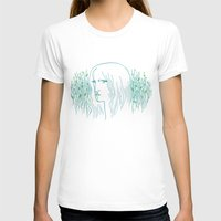 Woods Woman 1 Womens Fitted Tee White SMALL