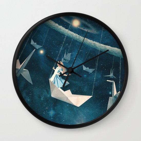 My Favourite Swing Ride Wall Clock
