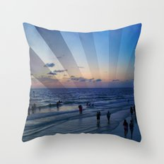 True Blue Throw Pillow
