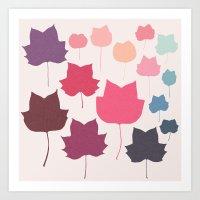 tulipifera 5 Art Print