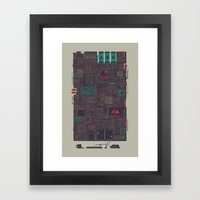 AFK Framed Art Print