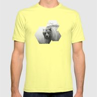 The Best Of All Worlds  Mens Fitted Tee Lemon SMALL
