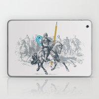 The Mighty Pencil Knight Laptop & iPad Skin