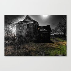 This Is Not My Home Canvas Print