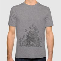 Reef Mens Fitted Tee Tri-Grey SMALL