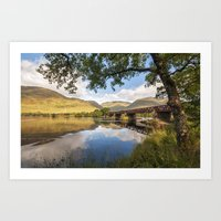 Railway Viaduct Over Riv… Art Print