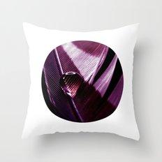 water drop IX Throw Pillow