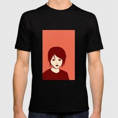 Emo Boy Mens Fitted Tee Black SMALL