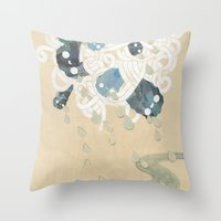 Out Of All Them Bright S… Throw Pillow